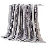 SUNNY KEY--Mantas para cama @ Franela Gris,Sólido Sólido 100% Poliéster mantas 200x230cm