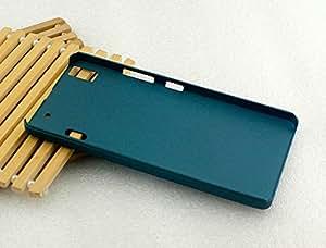 Lenovo A7000 Pudini Back Case Cover - deep sea green
