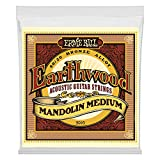 Ernie Ball 2065 Earthwood Jeu de cordes pour Mandoline Medium