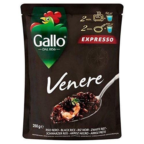 Riso Riz Venere Gallo Pochette Noire 250G - Paquet de 6