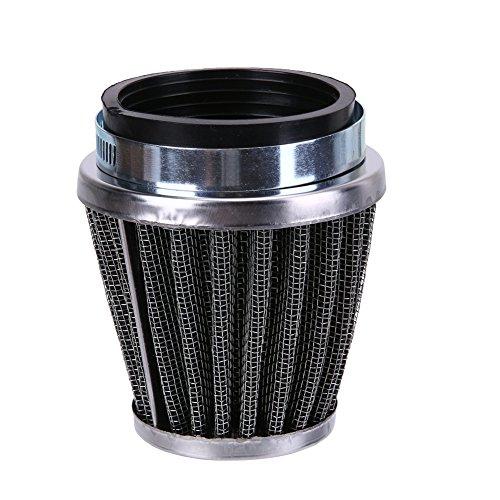 vanpower 60mm 2Schicht Stahl Net Filter Gaze Motorrad Clamp On Air Filter Reiniger - Gaze Cami