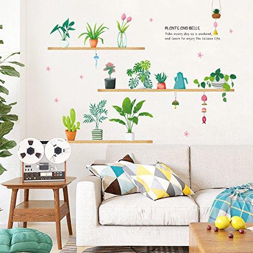 Hongrun Wall Sticker Creative Wand Aufkleber Schlafzimmer Teenage Herz Zimmer Im Stil Tapete Selbst Gestaltet - Kleber Und Gemütliche Kleine Frische