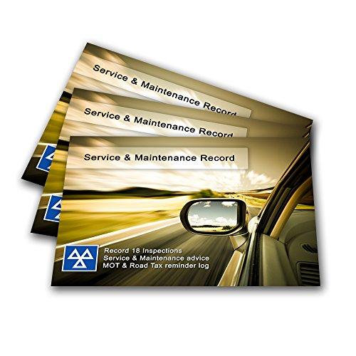 Preisvergleich Produktbild Premium Service Geschichte Log Book–blanko Ersatz passend für jedes Fahrzeug–Audi, A1A3A4A5A6TT Q3Q5Q7, S3