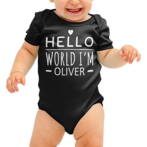 grow Hallo Welt Im DEINER NAMEN Cute Baby Suit Wachsen Body Romper Jungen Mädchen Dusche Geschenk (Halloween-dekoration-clearance Sales)