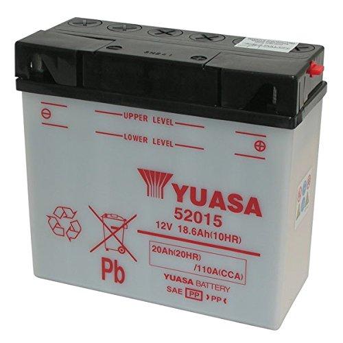 BATTERIA YUASA 52015 12V/20AH - FORNITA SENZA ACIDO