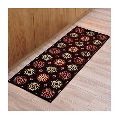 Bay-schlafzimmer-set (SOARLL Home Bodenmatte , rutschfeste Wasseraufnahme , Küche Schlafzimmer Bay Window Carpet Set (Color : D, Size : 50 * 180cm))