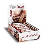 Got7 Rio Chrunch Protein Waffel Mit Schokolade Riegel Eiweißriegel Whey Diät Fitness Bodybuilding 24x 20g (Chocolate – Schokolade)