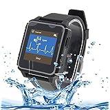 Smartwatch, A-Best IP68 Impermeable Deporte Reloj Inteligente Monitor de Frecuencia Cardiaca Bluetooth 4.0 SmartWatch Teléfono Nano-SIM con llamada de voz de Gestión para Samsung HTC Sony LG Xiaomi Huawei iPhone y Teléfono Android