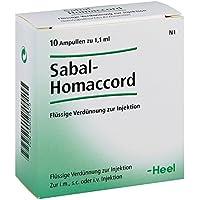 Sabal Homaccord Ampullen 10 stk preisvergleich bei billige-tabletten.eu