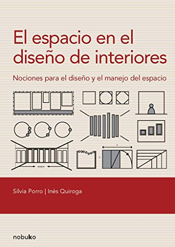 El espacio en el diseno de interiores / The Space in the Interior Design: Nociones Para El Diseno Y El Manejo Del Espacio / Concepts for the Design and Space Management por Porro Quiroga