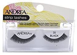 Andrea Lashes Strip Style 35 Black AA-61988