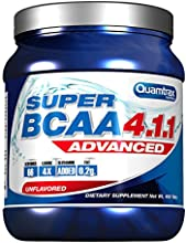 Quamtrax Nutrition Suplemento para Deportistas Super BCAA 4.1.1 - 400 Cápsulas