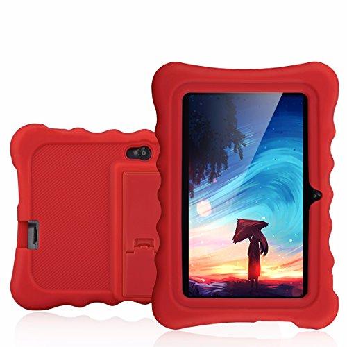 Ainol Q88 - 7 Zoll Kids Tablet PC (Android 4.4, 1024*600 pixel, 8 GB, unterstützt 3G, Allwinner A33 Dual core, Cortex A7 1.2GHz, dual Kamera, WIFI) (rot)