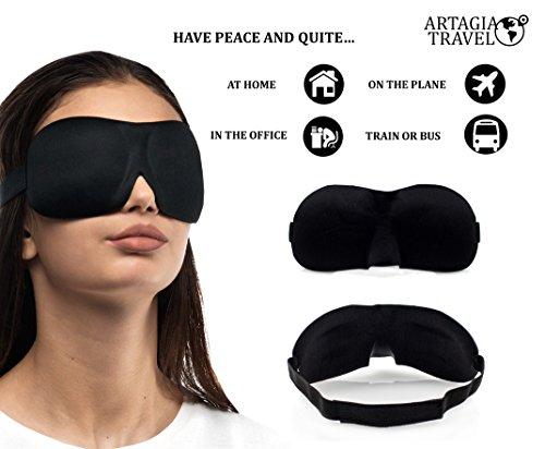Almohada De Viaje Para Cuello De Lujo Inflable | Máscara Para Dormir Cómoda 3D | Tapones Para Oído Reutilizables De Alta Fidelidad| Bolsa De Viaje Con Estilo | ¡Paquete De Viaje Completo - 3 En 1!