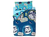 Disney Star Wars Doodle Funda Nórdica de 3 Piezas para Cama 90, Cotton
