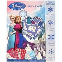 La Reine des Neiges - Fnbup - Disney - Kit De Loisirs Créatifs Et Coloriage - Busy Pack