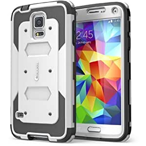 104212b1ed Galaxy S5 Case, i-Blason Armorbox Dual Layer Hybrid Full-body Protective  Case