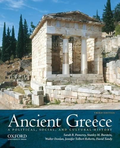 Ancient Greece: A Political, Social, and Cultural History