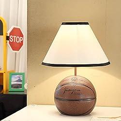 artículos para el hogar mediterránea niños de la manera salón Lámpara de mesa Lámpara de mesa de estudio junto a la cama de baloncesto , 1