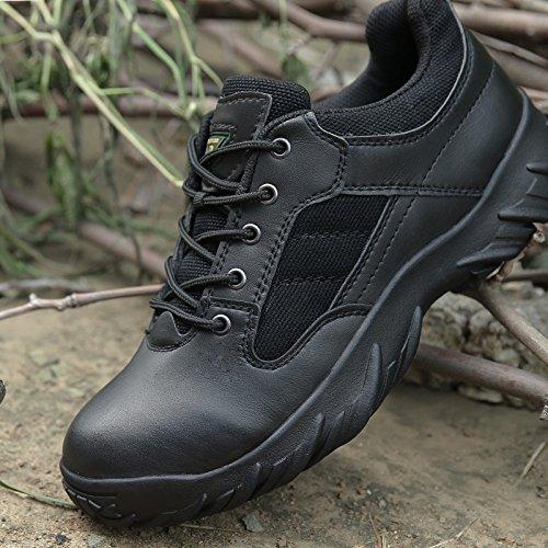 WZG les fans de l'armée extérieure hommes bas pour aider les tactiques bottes de combat du désert des hommes du commando bottes Marine bottes de vol chaussures militaires Black