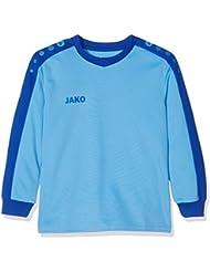 Jako TW–Camiseta Striker Camiseta de portero, todo el año, infantil, color Skyblue/Royal, tamaño 15 años (164 cm)