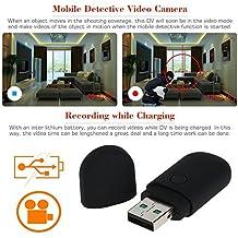 Electro-Weideworld - 960P Cámara Espía Flash Driver Mini DV Videocámara Portátil Grabador de Vídeo Deteccion Movimiento Pendrive Camara