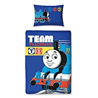 Thomas Team Junior Panel Duvet Cover + Free Small Reward Stickers