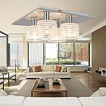 aolight lmpara de techo moderna simple y elegante de piezas lmpara de techo de