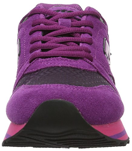 Lotto Trainer Viii NY W, Chaussures de Sport Femme Violet (Tropea/Pnk Cnd)