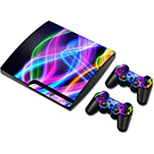 Laixing TN0157*Skin Sticker Cover para PS3 PlayStation 3 Slim+2 Controllers