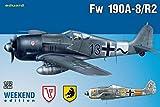 Unbekannt Eduard Plastic Kits 7430 - Modellbausatz FW 190A-8
