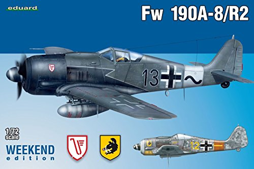Eduard Plastic Kits 7430 - Modellbausatz Fw 190A-8/R2 Weekend Edition