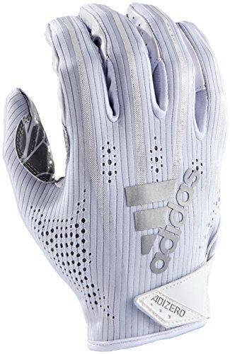 adidas Adizero 5-Star 7.0 American Football Receiver Handschuhe - weiß Gr. L