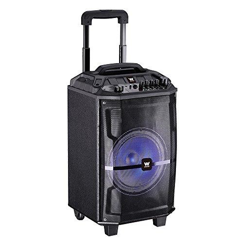 Woxter Rock'n'Roller - Altavoz inalámbrico transportable, color negro