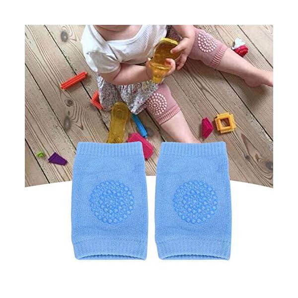 Cafopgrill Rodilleras para bebés, Protector de Rodilla Almohadillas para Rodillas de bebé de Dibujos Animados Protector… 2