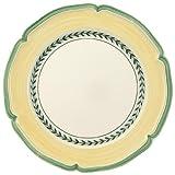 Villeroy & Boch French Garden Vienne Speiseteller, 26 cm, Premium Porzellan, Weiß/Bunt