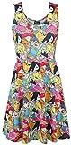 Adventure Time Characters Kleid multicolour XL