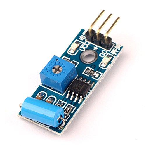 Ecloud Shop® SW-420-Bewegungs-Sensor-Modul für Arduino EK125