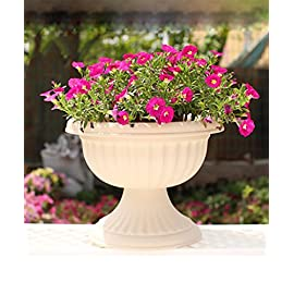 Savannah in plastica rotondo grande Interni Esterni Giardino Pianta Fioriera vasi di fiori