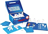 Hubelino 410085 - Lernspiel - Wörter Bauen - Lesen Lernen - ab 4 Jahren (100% kompatibel mit Duplo) - 120 Teile
