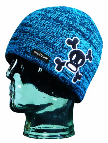 Paul Frank Jungen Skurvy Fleece Beanie, Jungen, blau (Paul Fleece Frank)