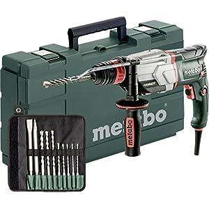 Metabo Multihammer UHE 2660-2 Quick Set Extrem robust für harten Dauereinsatz– inkl. SDS-plus-Bohrer-/Meißelsatz (10-tlg.)und Koffer 600697510