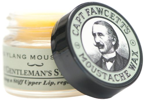 Captain Fawcett Moustache Wax Ylang 15ml, 1er Pack (1 x 15 ml)