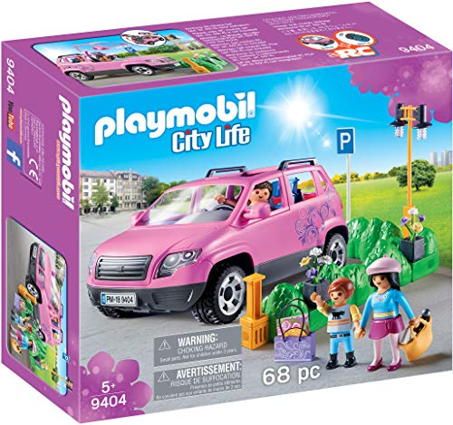 PLAYMOBIL City Life Coche Familiar con Parking