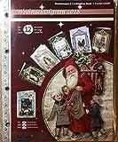 Reddy Creativ Cards 3-D Bastelmappe Weihnachtskarten Vintage
