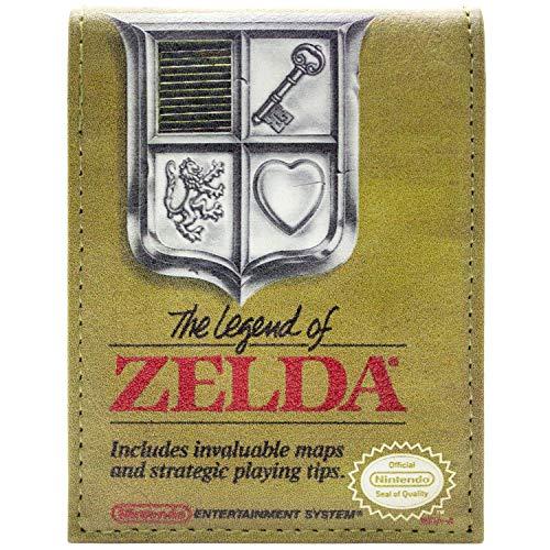 Cartera Legend of Zelda Diseño Caja Juego Oro