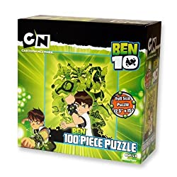 Ben 10 - 100 Piece Puzzle - Ben with 10 Aliens