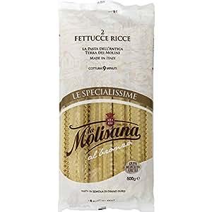 La Molisana - Pâtes à la semoule de blé - Le paquet de 500g - (pour la quantité plus que 1 nous vous remboursons le port supplémentaire)