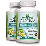 NUTRIHERBS Garcinia Cambogia Herbs 70% HCA Extract - 800mg (60 Veg Capsules) (Pack Of 2)