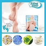 Foot Health Care ! Xshuai® 1Pair Remove Dead Skin Foot Mask Peeling Cuticles Heel Feet Care Anti Aging (C)